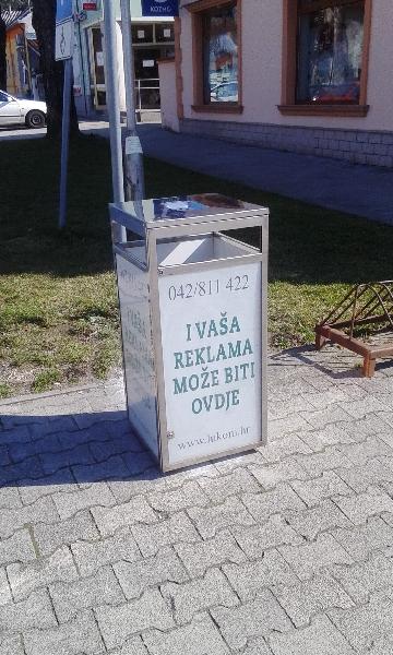 Novo- Iznajmljivanje reklamnog prostora na city boxu